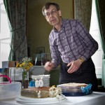 Steven and birthday cake